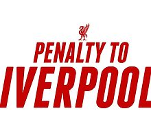 Penalty To Liverpool by JuzaShannon