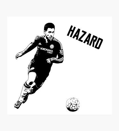Eden Hazard - Chelsea Photographic Print