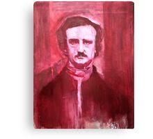 Edgar Allan Poe Painting. Canvas Print