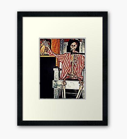 Barker Framed Print