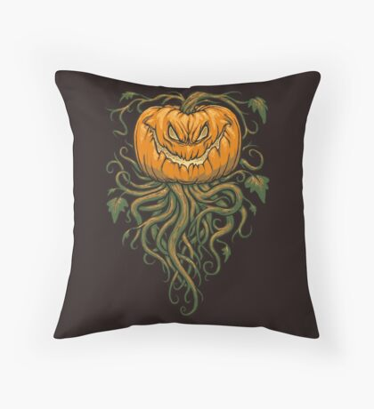 The Great Pumpkin King Throw Pillow
