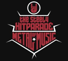 The steely Hitparade of Metal Music 2 (red white) by MysticIsland