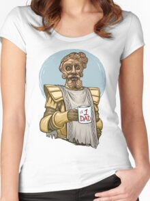 Giant Dad Women's Fitted Scoop T-Shirt