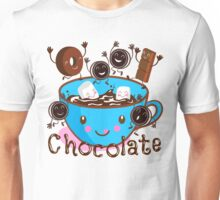 Hot chocolate time! Unisex T-Shirt