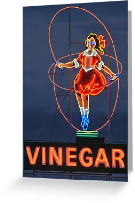 Skipping Girl Vinegar • Melbourne • Victoria by William Bullimore