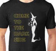 Come to the dark side Christmas witch Unisex T-Shirt