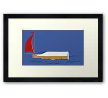 Booze Cruise Framed Print