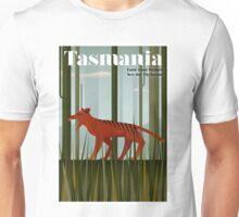 TASMANIA; Vintage Travel and Tourism Advertising Print Unisex T-Shirt