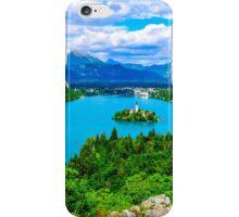 Lake Bled in Slovenia iPhone Case/Skin