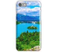 Lake Bled in Slovenia iPhone Case/Skin