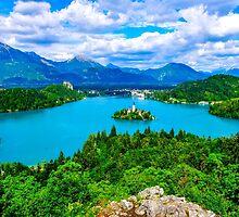Lake Bled in Slovenia by Luke Farmer