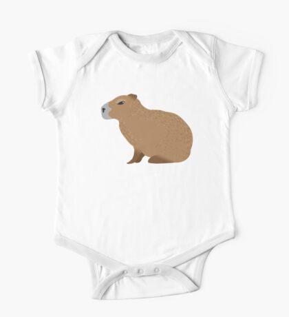 Capybara One Piece - Short Sleeve