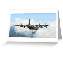 RAAF C-130E Hercules Greeting Card