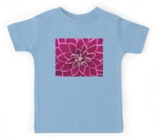 Beautiful purple dahlia flower Kids Tee
