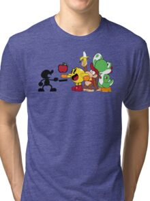 Smashing Food Tri-blend T-Shirt