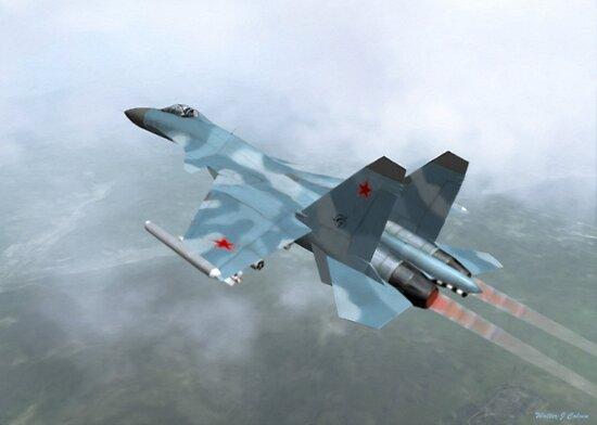 Mig-29a by Walter Colvin