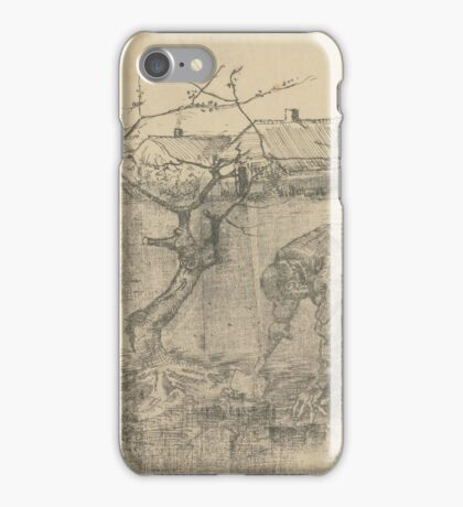 Gardener by an Apple Tree The Hague, July  Vincent van Gogh  iPhone Case/Skin