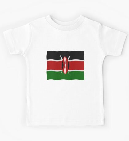 Kenya flag Kids Tee