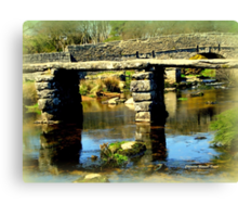 Clapper Bridge Canvas Print
