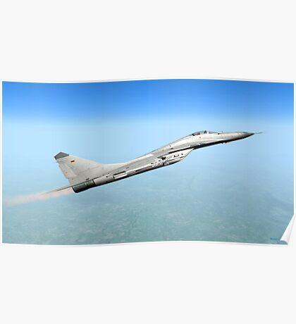 German MiG-29 Poster