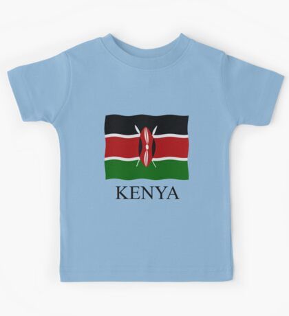 Kenya flag Kids Tee