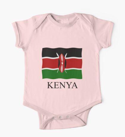 Kenya flag One Piece - Short Sleeve