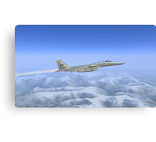 General Dynamics F-16c Canvas Print