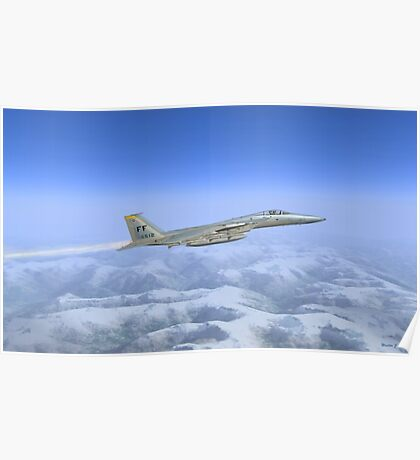 General Dynamics F-16c Poster