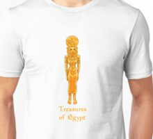 Golden goddess Sekhmet - treasures of Egypt Unisex T-Shirt
