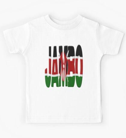 Jambo - Kenya flag Kids Tee