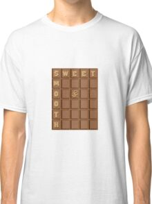 Sweet and smooth chocolate design Classic T-Shirt
