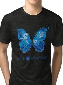 LIFE IS STRANGE - BUTTERFLY Tri-blend T-Shirt