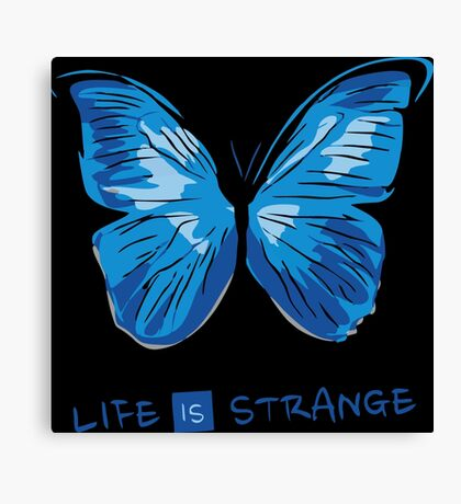 LIFE IS STRANGE - BUTTERFLY Canvas Print