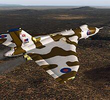Avro Vulcan by Walter Colvin