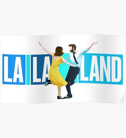 La La Land Musical Poster