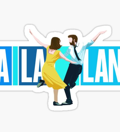 La La Land Musical Sticker