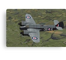 Bristol Beaufighter. (Whispering Death) Canvas Print