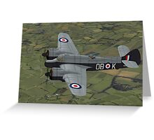 Bristol Beaufighter. (Whispering Death) Greeting Card