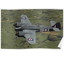 Bristol Beaufighter. (Whispering Death) Poster