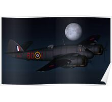 Bristol Beaufighter Nightfighter Poster
