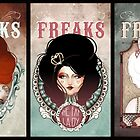triptyque - The Beauty Freaks by France Mansiaux