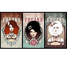 triptyque - The Beauty Freaks Photographic Print