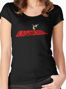 La La Land  City of Stars Women's Fitted Scoop T-Shirt