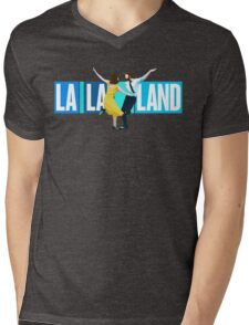 La La Land Musical Mens V-Neck T-Shirt