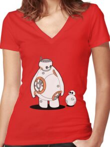 BB Max Women's Fitted V-Neck T-Shirt