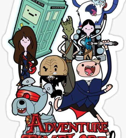 Adventure Time-Lord Generation 12 Sticker