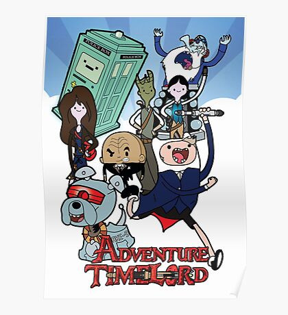 Adventure Time-Lord Generation 12 Poster