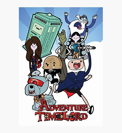 Adventure Time-Lord Generation 12 Photographic Print