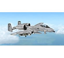 A-10 Thunderbolt  Photographic Print