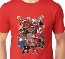 Spidey across time and space Unisex T-Shirt